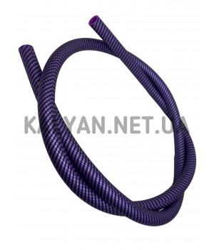 Шланг Силиконовый Без Мундштука Carbon (фиолетовый)