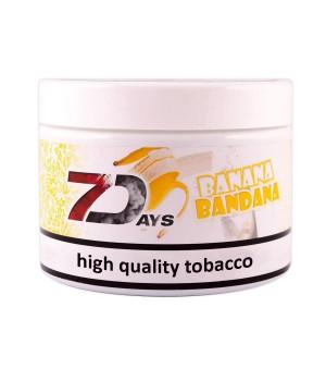 Табак 7 Days Banana Bandana (Банановый Милк-шейк) 200гр