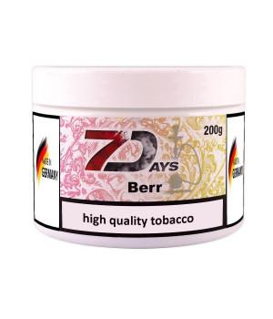Табак 7 Days Berr (Черешня Лайм) 200гр