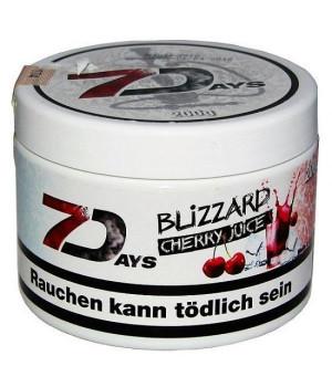 Табак 7 Days Blizzard Cherr (Вишневый Сок) 200 гр