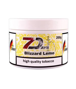 Табак 7 Days Blizzard Lemo (Лимонный Взрыв) 200гр