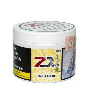 Табак 7 Days Cold Bear (Груша Мята) 200 гр