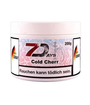 Табак 7 Days Cold Cherr (Ледяная Вишня) 200гр