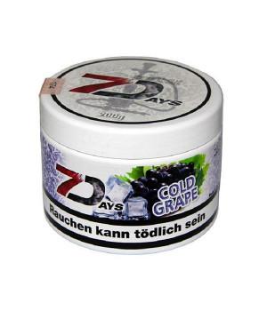 Табак 7 Days Cold Grap (Холодный Виноград) 200 гр