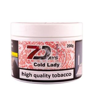 Табак 7 Days Cold Lady (Клубника) 200гр