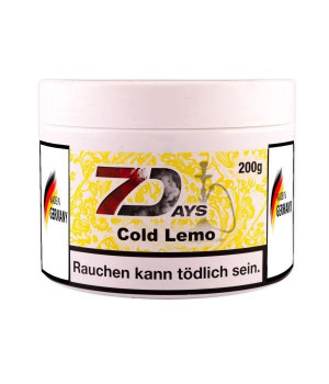 Табак 7 Days Cold Lemo (Ледяной Лимон) 200гр