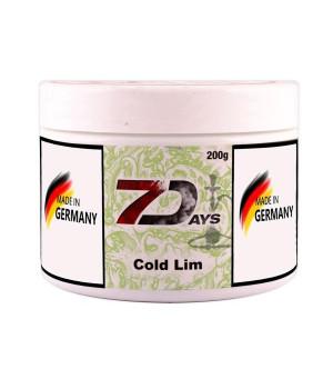 Табак 7 Days Cold Lim (Ледяной Лайм) 200гр