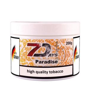 Табак 7 Days Paradise (Апельсин Манго Маракуя) 200гр