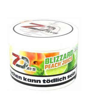 Табак 7 Days Peach Juice (Персик) 200гр