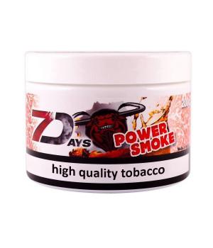 Табак 7 Days Power Smoke (Энергетик с Колой) 200гр