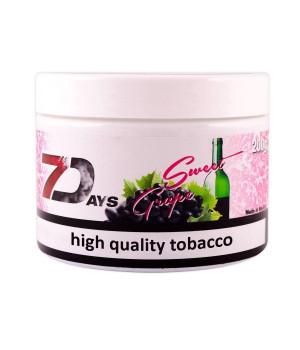 Табак 7 Days Sweet Grape (Сладкий Виноград) 200гр