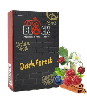 Табак Adalya Black Dark Forest (Дарк Форест) 50гр
