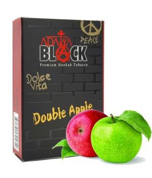 Табак Adalya Black Double Apple (Двойное Яблоко) 50гр