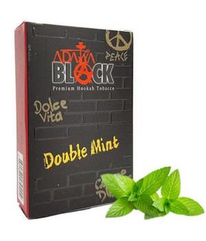 Табак Adalya Black Double Mint (Двойная Мята) 50гр