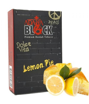 Табак Adalya Black Lemon Pie (Лимоный Пирог) 50гр