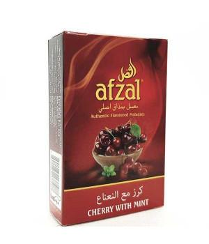 Табак Afzal Cherry with Mint (Черешня с Мятой) 50гр