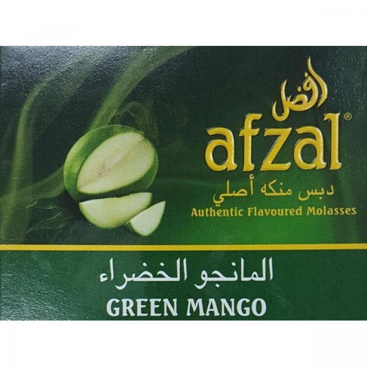 Купить Табак Afzal Green Mango (Зеленый Манго) 50гр Киев и Украина Оптом и в розницу
