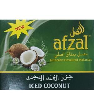 Табак Afzal Iced Coconut ( Кокос Лед) 50гр