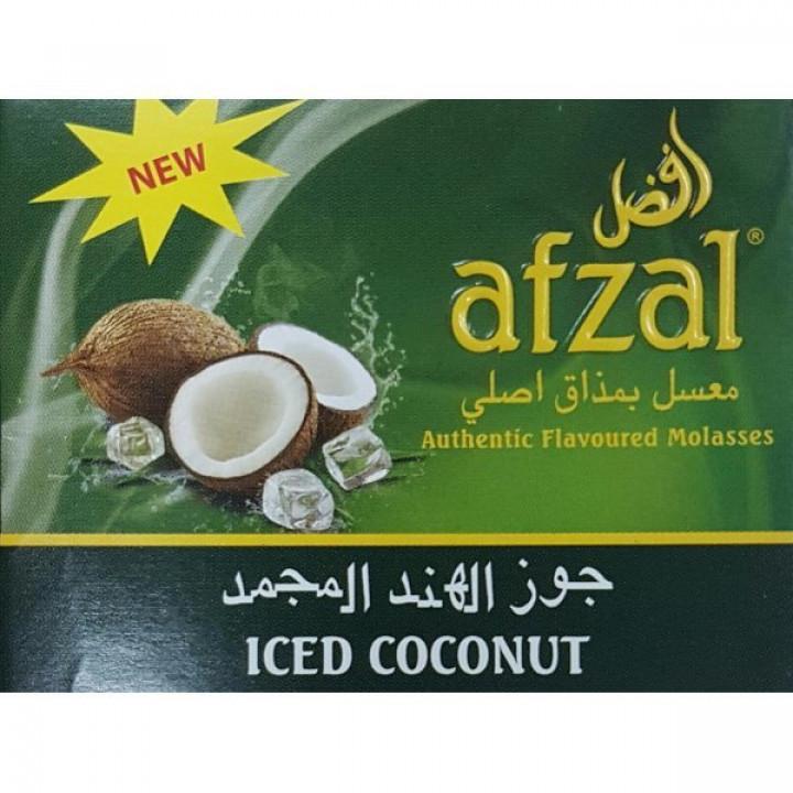 Купить Табак Afzal Iced Coconut ( Кокос Лед) 50гр Киев и Украина Оптом и в розницу