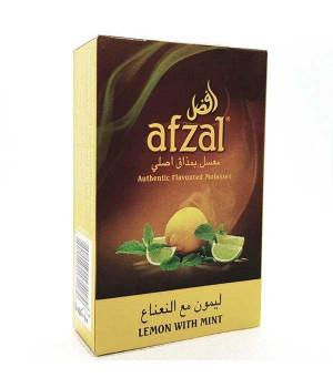 Табак Afzal Lemon with Mint (Лимон с Мятой) 50гр