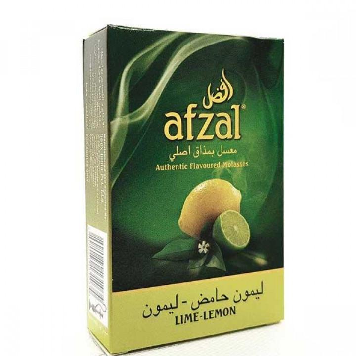 Купить Табак Afzal Lime Lemon (Лайм и Лимон) 50гр Киев и Украина Оптом и в розницу