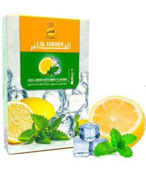 Табак Al Fakher Iced Lemon with Mint 10 (Лимон Мята Лед) 50гр