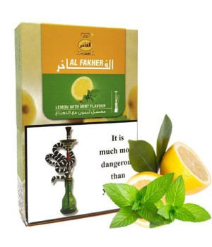 Табак Al Fakher Lemon With Mint (Лимон Мята) 50гр