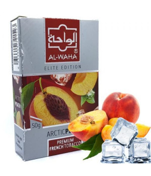 Табак Al-Waha Elite Edition Artic Peach (Арктический Персик) 50 гр