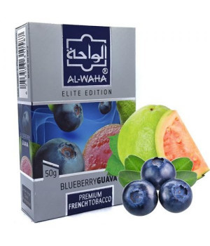 Табак Al-Waha Elite Edition Blueberry Guava (Черника Гуава) 50 гр