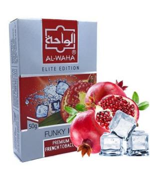 Табак Al-Waha Elite Edition Funky Ice (Забавный Лед) 50 гр
