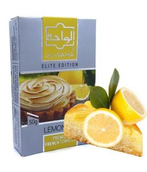 Табак Al-Waha Elite Edition Lemon Pie (Лимонный Пирог) 50 гр
