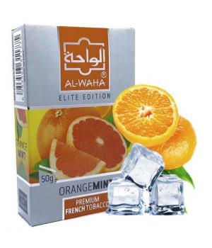 Табак Al-Waha Elite Edition Orange Mint (Апельсин Мята) 50 гр