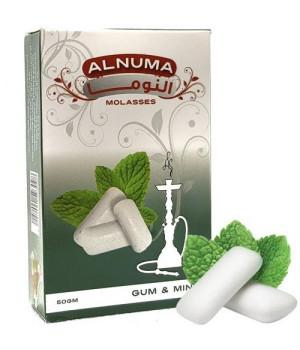 Табак Alnuma Gum and Mint (Мятная Жвачка) 50гр