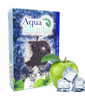 Табак Aqua Mentha Aqua Black Apple (Аква Черное Яблоко) 50 гр