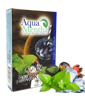 Табак Aqua Mentha Aqua Black Box (Аква Блэк Бокс) 50гр