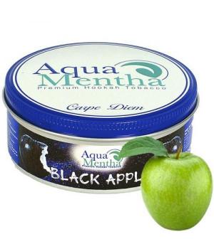 Табак Aqua Mentha Black Apple (Черное Яблоко) 250 гр