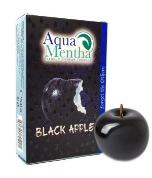 Табак Aqua Mentha Black Apple (Черное Яблоко) 50 гр