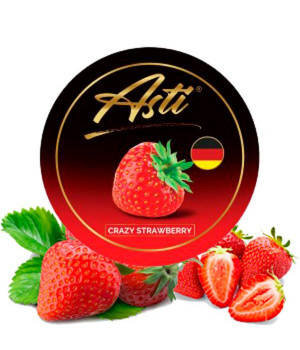 Табак Asti Crazy Strawberry (Крейзи Клубника) 100 гр