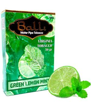 Табак Balli Green Lemon Mint (Лайм Мята) 50 гр