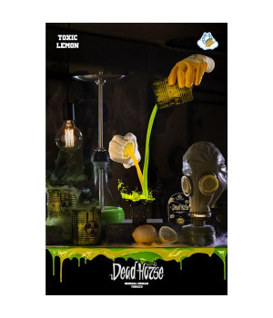 Табак Dead Horse Heaven Line Toxic Lemon (Токсик Лимон) 100гр