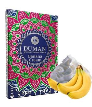 Табак Duman Medium Banana Cream (Банановый Крем) 100 гр