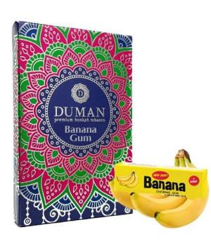 Табак Duman Medium Banana Gum (Банановая Жвачка) 100 гр