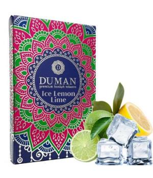 Табак Duman Medium Ice Lemon Lime (Лимон Лайм Лед) 100 гр