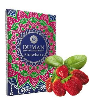 Табак Duman Medium Strawbazz (Клубника Базилик) 100 гр