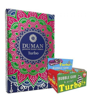 Табак Duman Medium Turbo (Жвачка Турбо) 100 гр