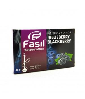 Табак Fasil Blueberry Blackberry (Черника Ежевика) 50гр