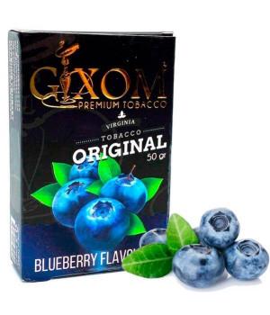 Табак Gixom Blueberry (Черника) 50 гр