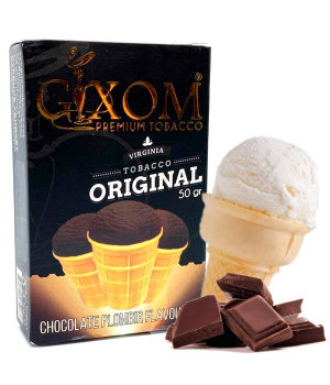 Табак Gixom Chocolate Plombir (Шоколад Мороженое) 50 гр