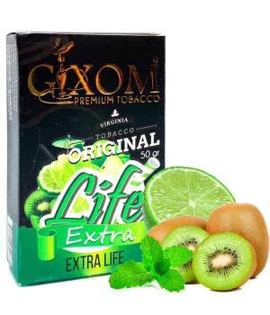 Табак Gixom Extra Life (Экстра Лайф) 50 гр