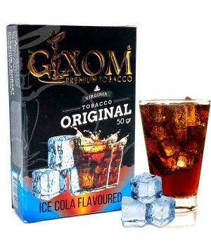 Табак Gixom Ice Cola (Кола Лед) 50 гр